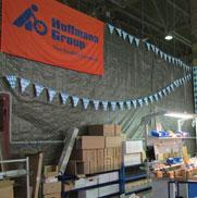 Установка систем безопасности на складских комплексах «Hoffmann group»
