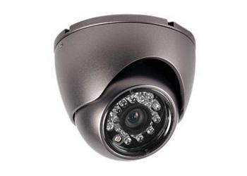 8 внутренних цветных купольных AHD камер 1 Мп, с ИК подсветкой