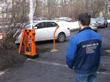 Установка шлагбаума на парковке