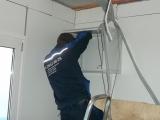 Монтаж сетей в офисе Pekkaniska Group